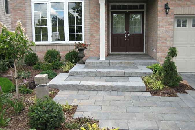 Straight Lines Walkway To Front Entrance Jason Smalley