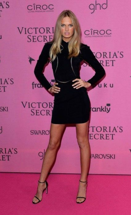 After the Victoria's Secret casting for the VS show in 2014, Romee treated herself with little carrot cake, which her boyfriend brought up for her. Description from healthyceleb.com. I searched for this on bing.com/images