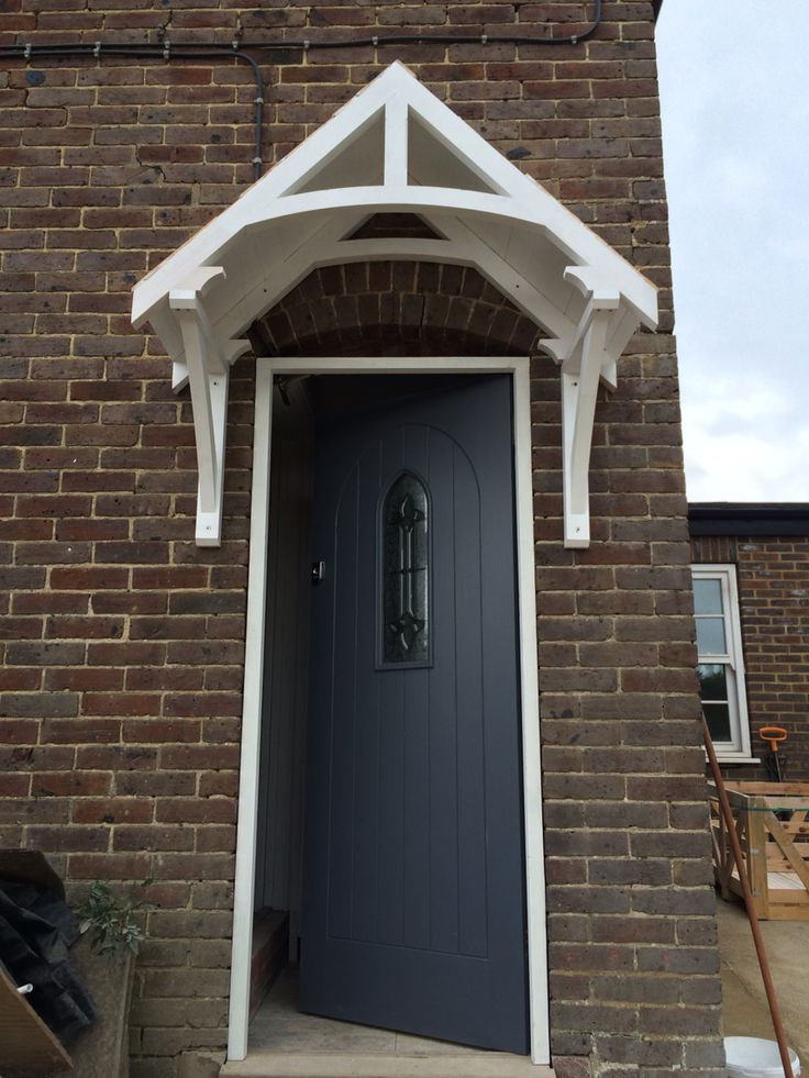 Dulux Gallant Grey - the new front door