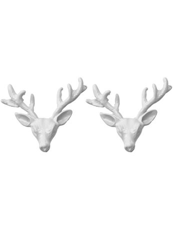 Wildfox Couture  Deer Stud Earrings in Matte White