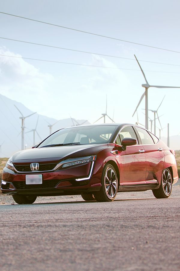 Find your power inside the #HondaClarity Fuel Cell using the California Fuel Cell Partnership map to find your nearest hydrogen fuel station.