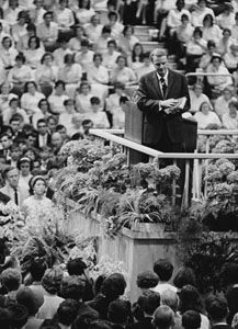 1966 Charlotte, North Carolina / Billy Graham
