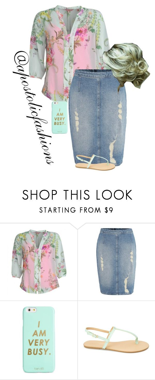 """""""Apostolic Fashions #1361"""" by apostolicfashions ❤ liked on Polyvore featuring Ted Baker, Calvin Klein, ban.do, Forever 21, modestlykay and modestlywhit"""