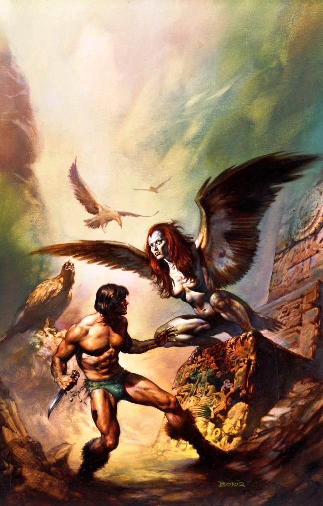 The Maker of Universe / 1977 (Boris Vallejo)