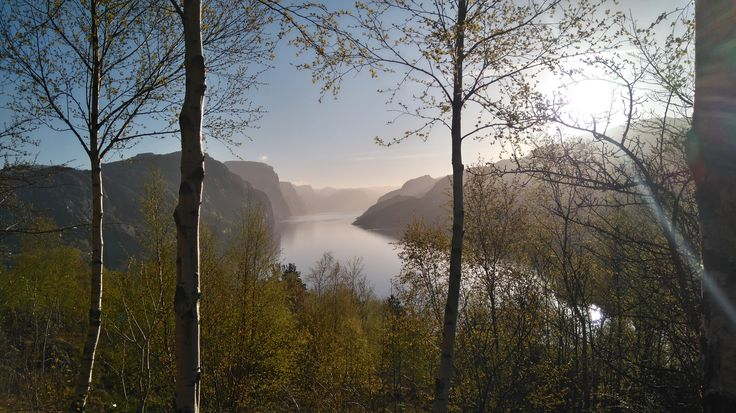 Essence of Spring Lysefjorden, Rogaland, Norway 4th of May 2016