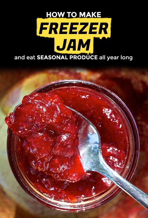 Stop what you're doing and make freezer jam. Produce seasons are fleeting, the weather is increasingly fickle, and freezer jam is ridiculously easy to make, even if you've never made jam before. Not only will it keep for up to a year in the freezer, it's the ideal project for a scorching summer day because unlike traditional jam-making methods where there are giant pots of water steaming up the kitchen, there's just a little bit of saucepan action.