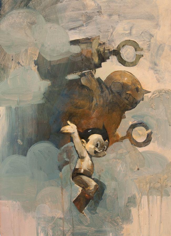 "xombiedirge: "" Astro Boy by Ashley Wood / Store / Blog """
