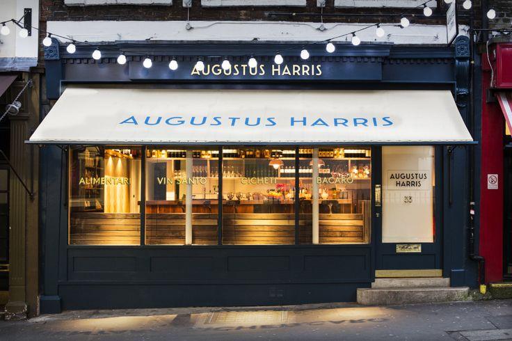 Augustus Harris, Catherine Street