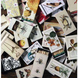 NuzzerBox: Decorative Box Matches