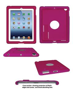 Bobj® Advanced Edition Rugged Cases offer more drop protection than typical 'skins.' This case is especially appreciated when your iPad is a shared family device or travels with you daily. Excellent grip. Easy to clean. http://www.amazon.com/s/ref=nb_sb_noss?url=me%3DA3SQAI9BQY42F6&field-keywords=BJGRIPADSC23