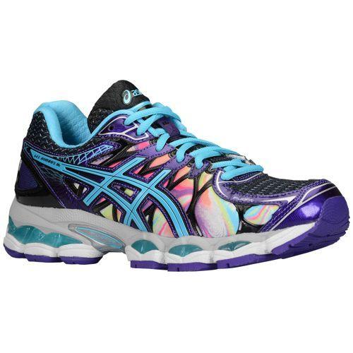 ASICS® Gel - Nimbus 16 - Women's - Running - Shoes - Iridescent/Blue/Black