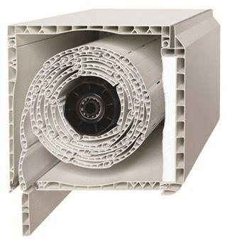 sistema cajon compacto c/ persiana de pvc