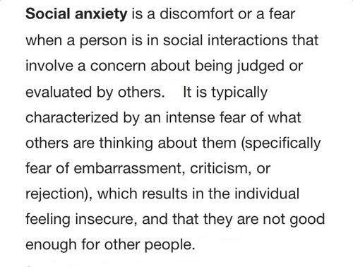 social anxiety ¨`*•.¸ pinterest & instagram - @ninabubblygum ¸.•*´¨