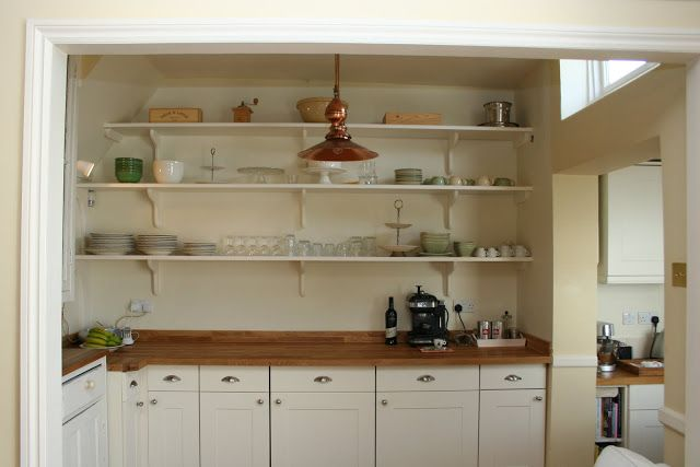 Modern Country Style: Colour Study: Farrow and Ball's New White  Click through for details.
