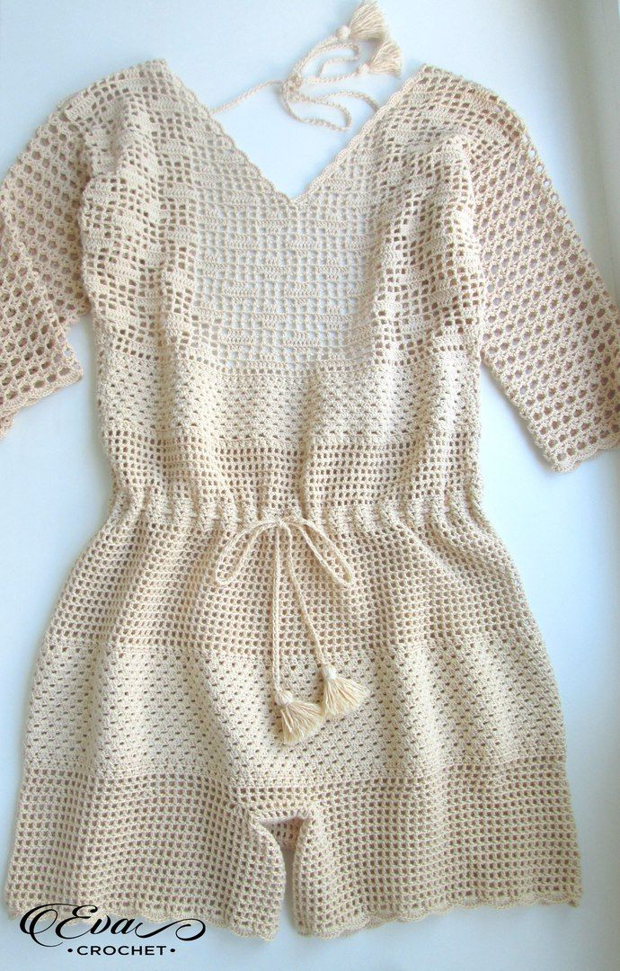Free Crochet Pattern For Baby Romper : Best 25+ Crochet romper ideas on Pinterest Short ...