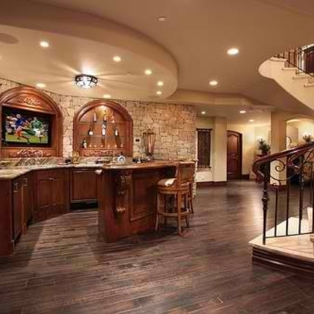 27 Best Awesome Finished Basements! Images On Pinterest