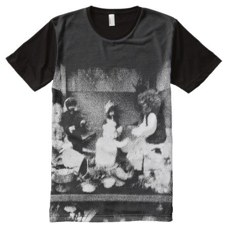 Black and white photo All-Over-Print T-Shirt - click to get yours right now!