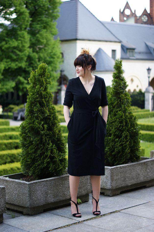 Aline Black XS - kobieca sukienka od Freeshion - Freeshion - Sukienki