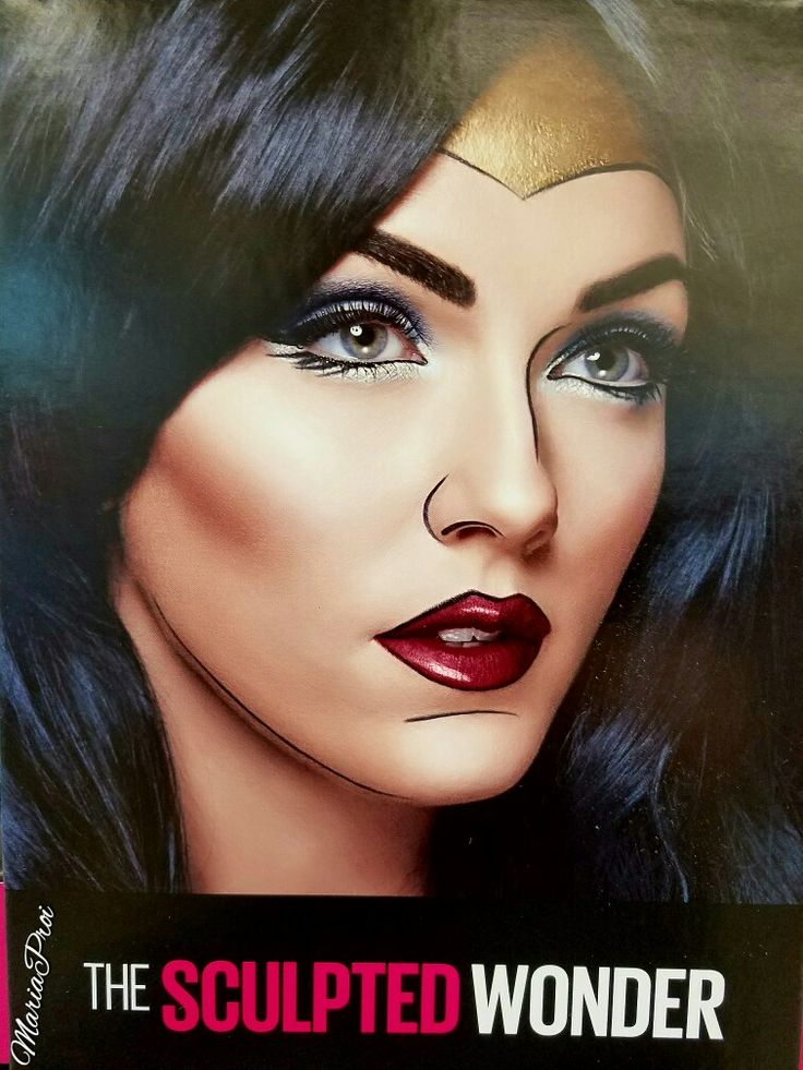 1000+ Ideas About Wonder Woman Makeup On Pinterest