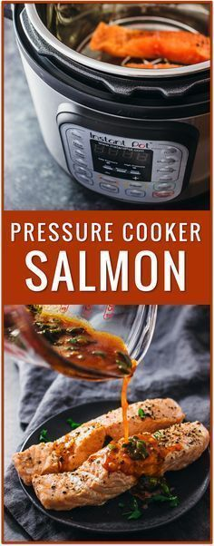 instant pot salmon, chili lime sauce, pressure cooker salmon, electric pressure cooker fish recipe, fish instructions, how long to pressure cook salmon, one pot salmon recipes, cooking salmon in instant pot via @savory_tooth