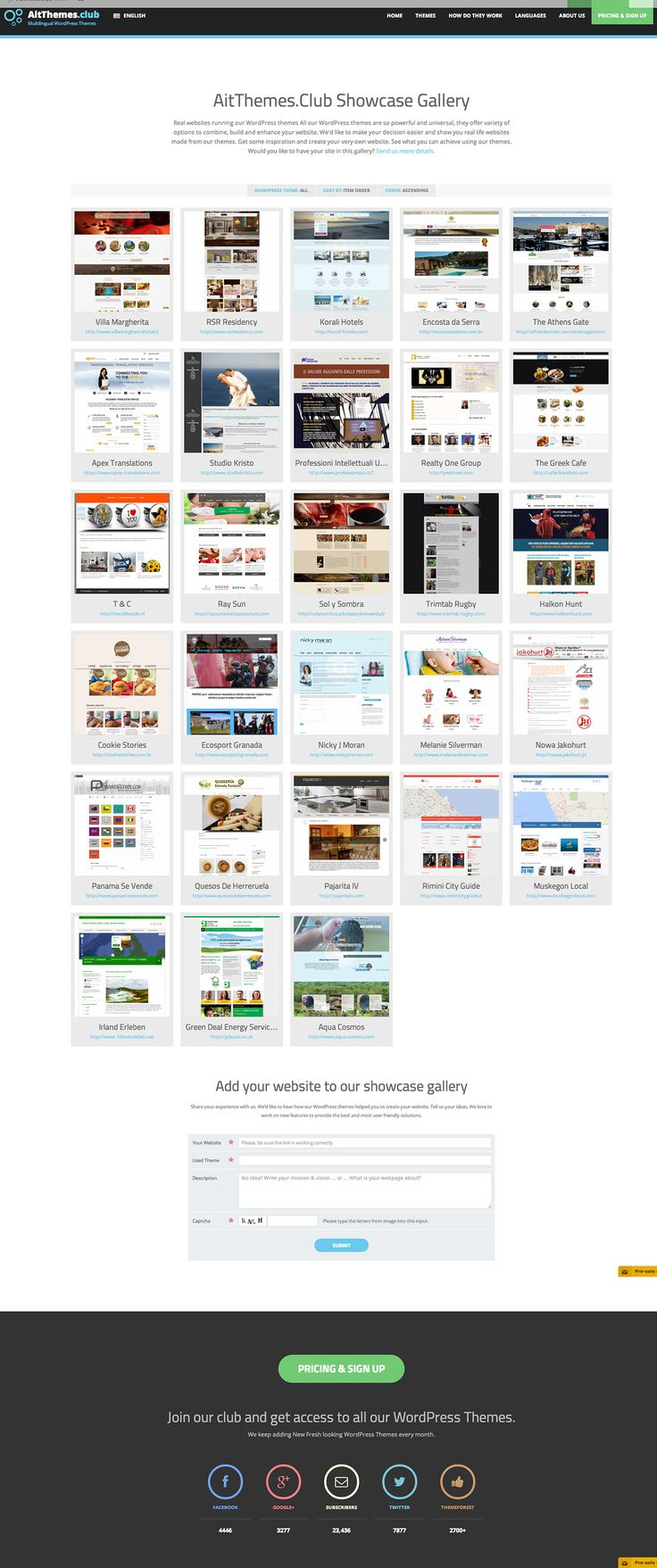 Behance :: Ait-Themes Club Showcase by AIT WordPress Themes