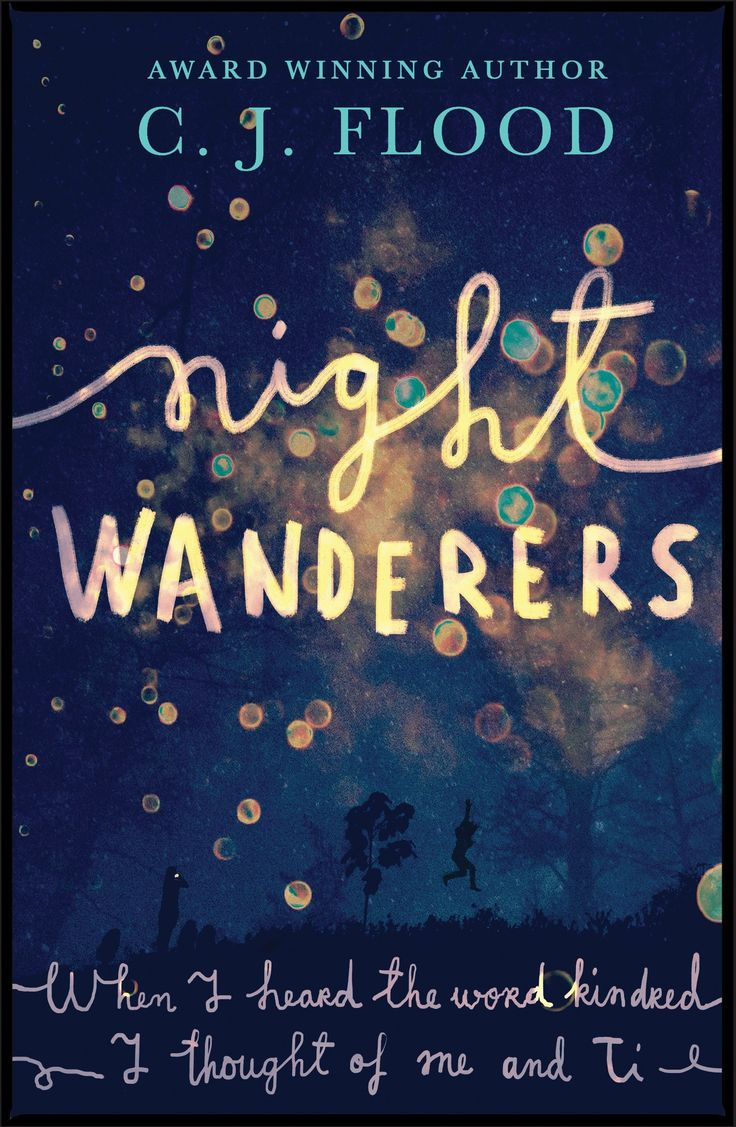 #CoverReveal: Night Wanderers - C.J. Flood, UK #awordfromJoJo #books