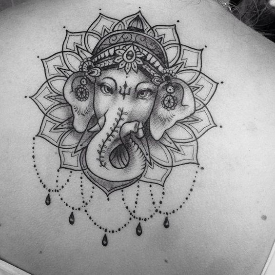 Ganesh Tattoo, Ganesha Tattoo