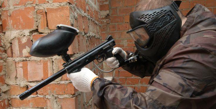 """Paintball spielen """"500 Paintballs"""" Porta-Westfalica #Waffe #Krieg #Pistole"""