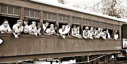 Un viaje en tren al Medellín de los años 40