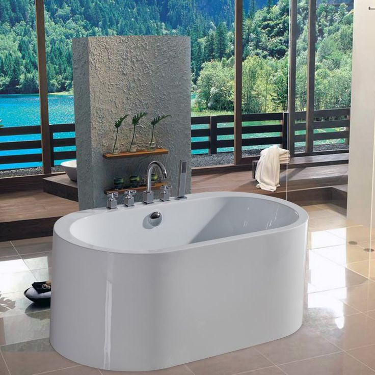 56 inch freestanding tub. Aquatica PureScape 54 75 Inch Freestanding Tub PURESCAPE 169  PS169 Best 25 inch bathtub ideas on Pinterest Clawfoot tubs Penny