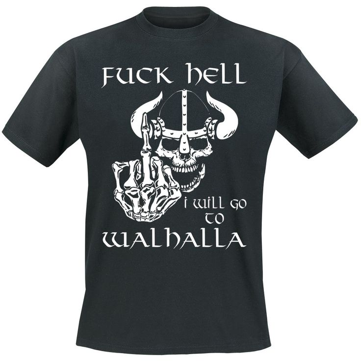 Vikings Walhalla Camiseta t-shirt $13.99 (euros)  en EMP Europe´s Rock-Mailorder No.1 : La más grande venta por correo de Merchandising Oficial Musica Metal / Hard rock / Heavy / Gótico / Militar/ Lolita / Punk Style y muchoooo más !!!