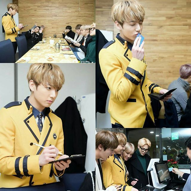 The day when the golden maknae have to pay his hyungs meals | BTS