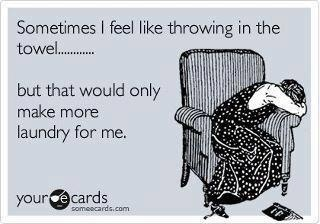 hahahahhahahahah!Laugh, Girls Problems, Truths, So True, Funny Stuff, Towels, Funny Ecards, E Cards, Laundry Room