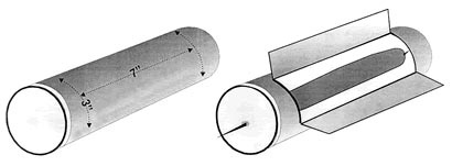 Solar Hot Dog cooker made from a Pringles can --Webelos Craftsman idea