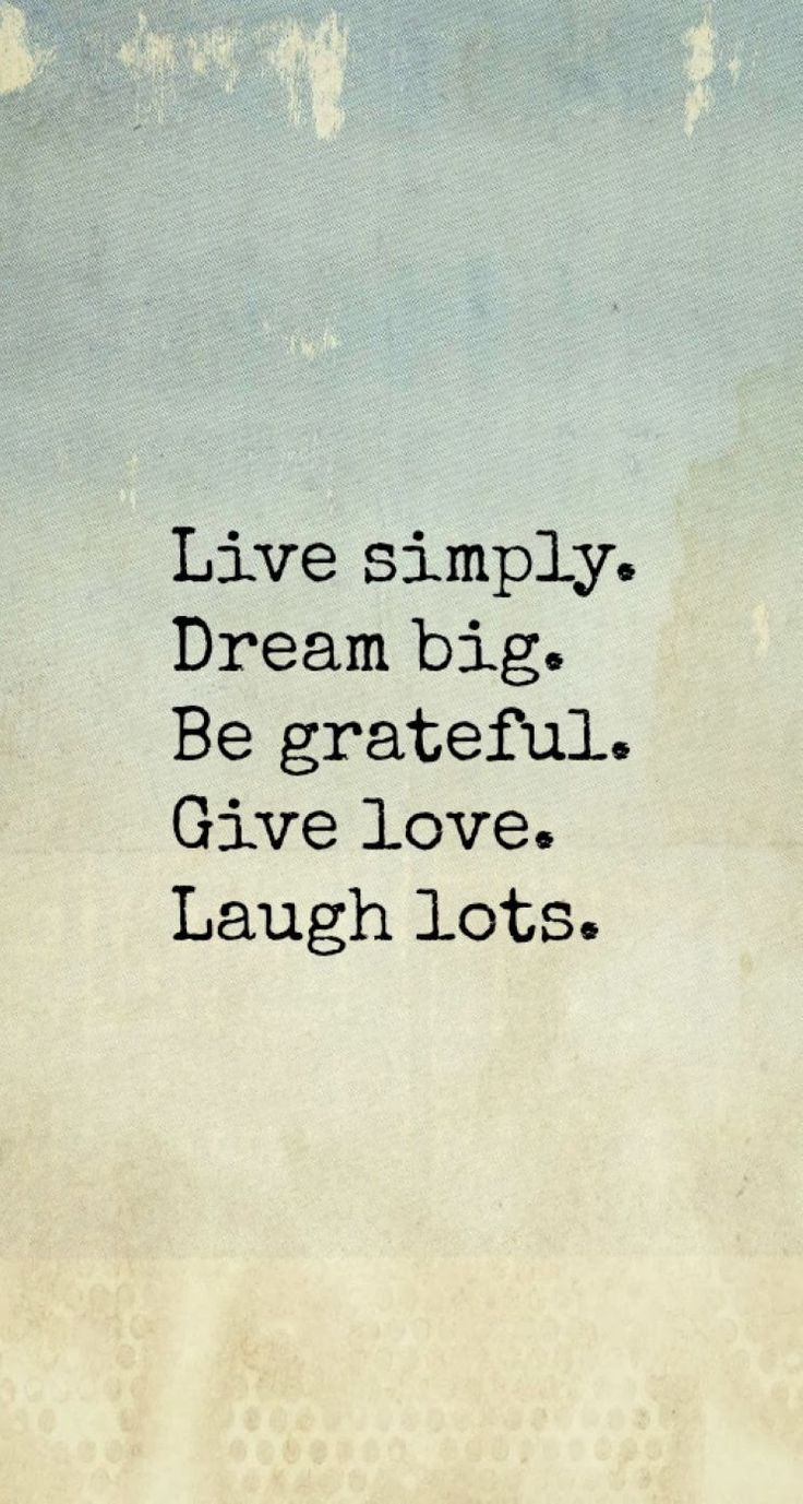 Live Simply iPhone Inspirational & motivational Quote