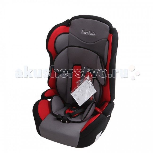 Автокресло BamBola Primo  Детское автомобильное кресло Bambolo Primo предназначено для детей от 1 года до 12 лет весом от 9 до 36 кг. Отличительным свойством автокресла является его универсальность: по мере роста ребенка, кресло легко трансформируется в бустер. Кресло имеет мягкий съемный подголовник и съемный чехол, изготовленный из гипоаллергенного материала. Для малышей от 1 года до 4 лет автокресло оборудовано внутренними пятиточечными ремнями, которые урегулируются по высоте в…