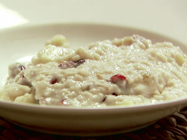Sunday Morning Oatmeal recipe from Ina Garten via Food Network