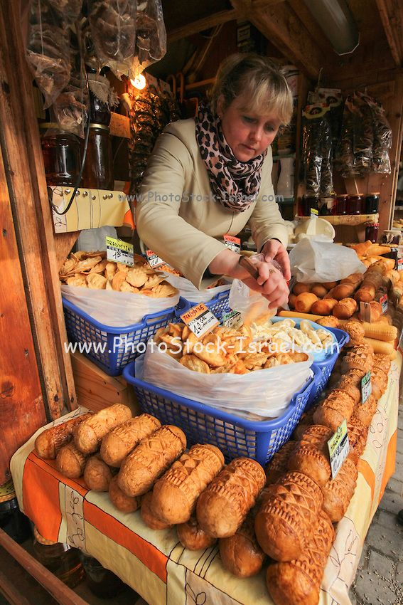 Cheese market, Zakopane, Poland