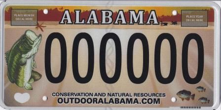 17 best images about fishy license plates on pinterest for Al fishing license