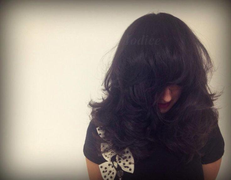 My work...! #massimoiodice #caserta #viamarchesiello #haircut #hair #davines #chic