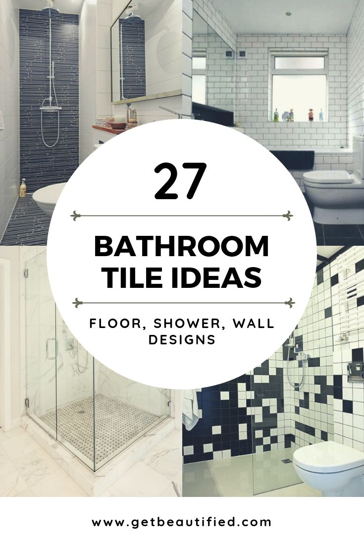 59 Simply Chic Bathroom Tile Ideas For Floor Shower And Wall Design With Images Tile Bathroom Bathroom Floor Tiles Round Mirror Bathroom