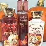 Bath and Body Works Comfort Pumpkin Latte & Marshmallow
