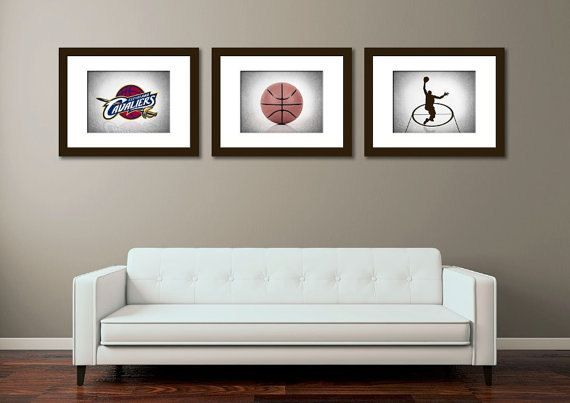 Discount set of 3 Cleveland Cavaliers photo by IprayStudio on Etsy