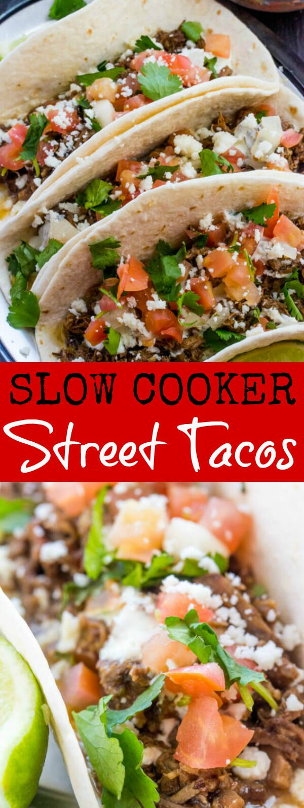Moist, delicious and absolutely addicting these Slow Cooker Street Tacos are our go to meal for taco Tuesday! So I have a thing with tacos, like we love them around here. They are a meal my kids actually repeatedly ask me to make over and over and over again. But[Read more]