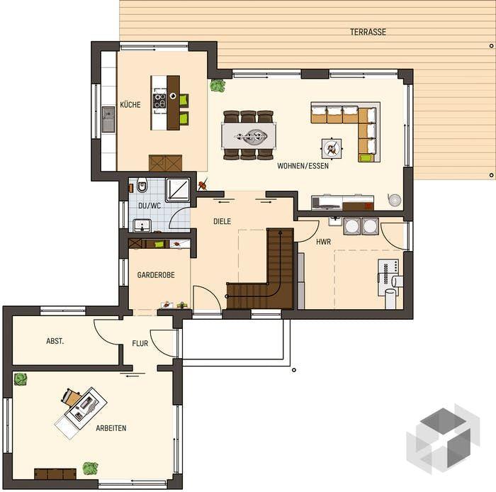 365 besten grundriss und aufteilung bilder auf pinterest hausbau hauspl ne und innenarchitektur. Black Bedroom Furniture Sets. Home Design Ideas