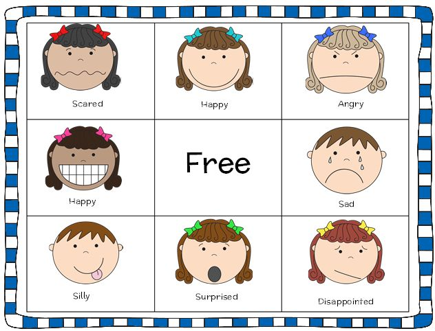 Emotions Worksheet For Pre Along With Emotions Worksheet For ...
