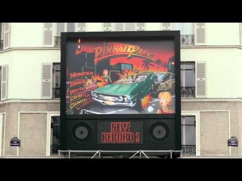 The Parisian Pinball Park