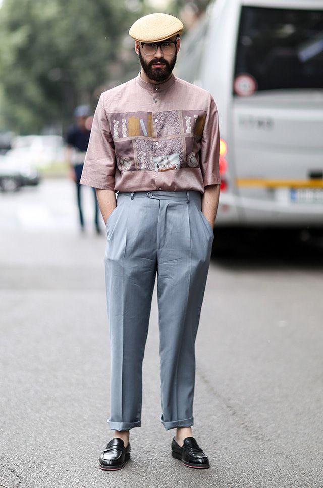 Men's Fashion Week Street Style 40