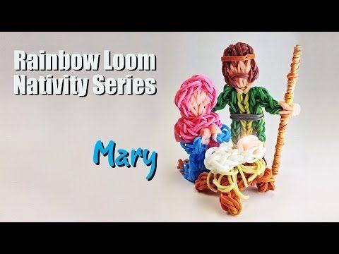 Rainbow Loom Nativity Series: Mary by PG Loomacy. You Tube.