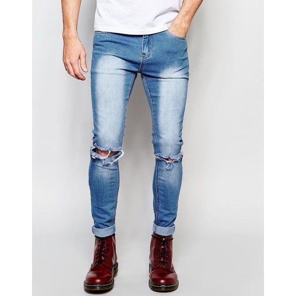 18 best Jeans images on Pinterest | Men's jeans, Distressed skinny ...